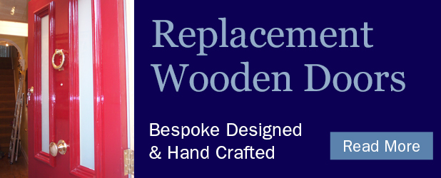 wooden doors refurbished or replaced